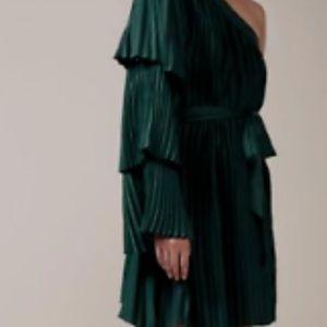 Keepsake Deep Water Mini Dress,  Forest Green